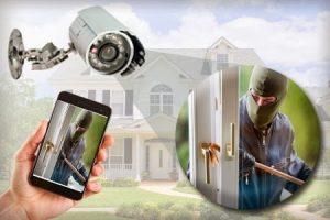 cameras and burglar